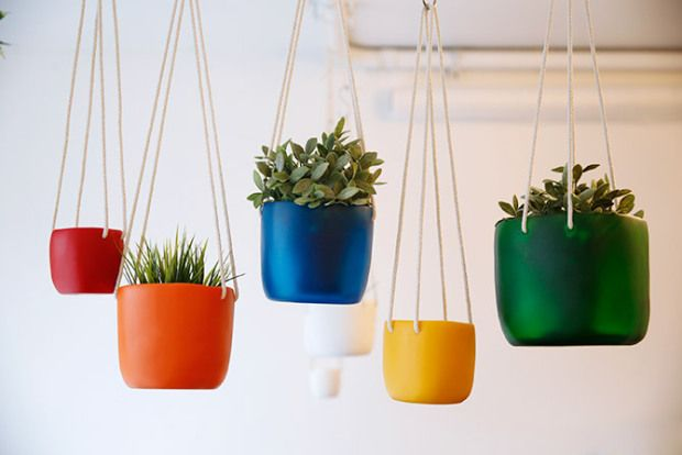 Spotted SF / Tina Frey Designs - Hanging Planters
