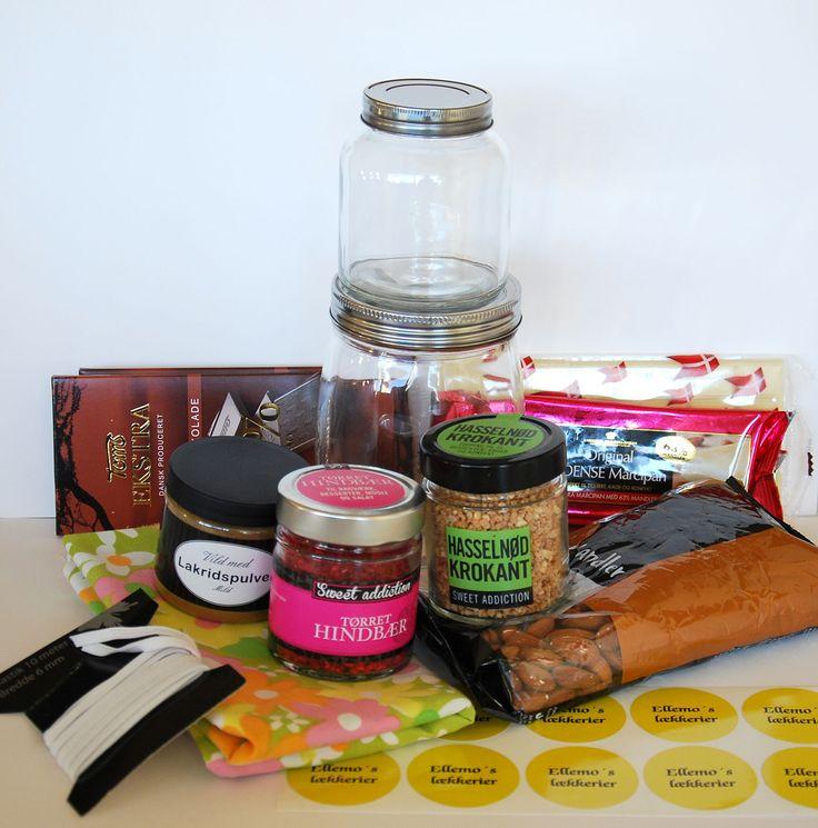 Lav en personlig værtindegave i anledning af påsken med hjemmelavede chokolader og saltede mandler med lakrids
