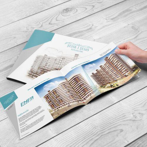 Enfa Yapı - Katalog Tasarım - Catalog Design