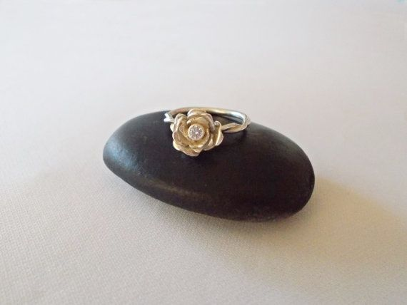 Vintage engangement ring by DRscreationsshop on Etsy