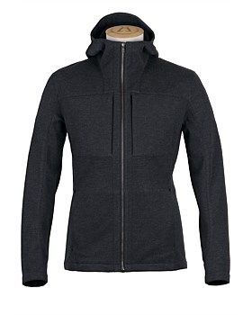 This men's hoodie from Alchemy Equipment combines the relaxed aesthetic of a m lange hoodie with the performance of a 3 layer laminated water and wind proof membrane. With a silhouette based on a more fitting base, this hoodie has a sporty face and a technical soul for an all conditions style. Features: Stretch 3 Layer construction. 10000mm WP/MVTR with DWR. Microfleece inner. YKK aquaguard zips. Buy Now…