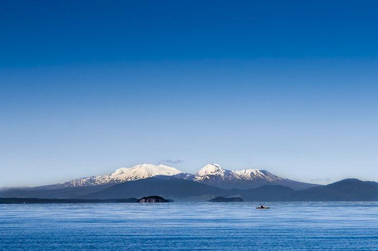 Quiet morning on Lake Taupo