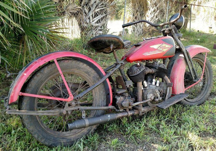 Barn Hog: 1930 Harley-Davidson VL - http://barnfinds.com/barn-hog-1930-harley-davidson-vl/