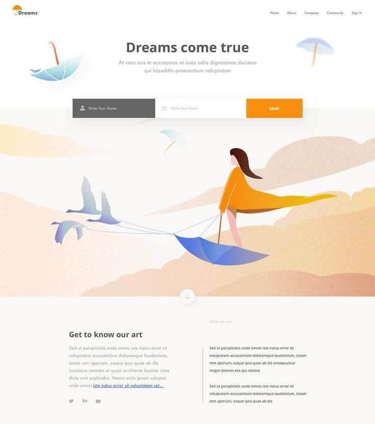 Dreams  Outcrowd @outcrowdstudio #designer #top #landingpage #brandidentity #brand #design #uiux #ui #ux #inspiration #web #dribbble #behance #website #uidesign #uxdesign #graphicdesign #trending #entrepreneur #colors #concept #illustrator #uzersco #typography  #app #mobile #colorful #startup #illustration #hader