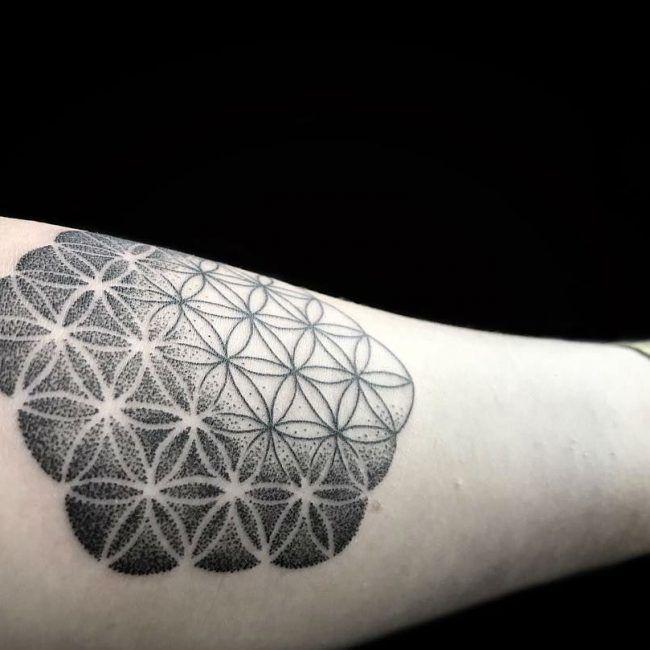 Flower of Life Tattoo 92