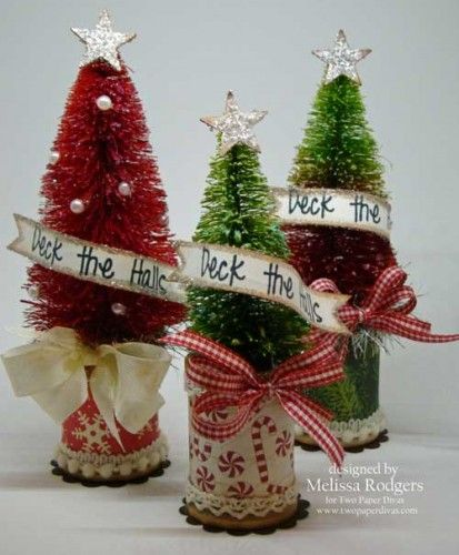 Holiday Craft Fair! - Deck the Halls stamp by Two Paper Divas