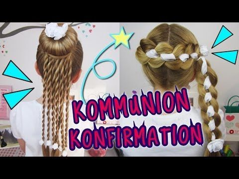★ COOLE Konfirmation/Kommunion ★ Frisuren die …