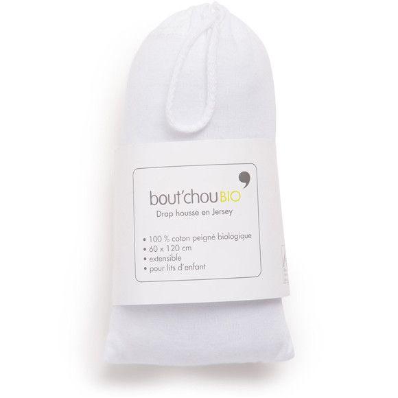 Monoprix - Drap housse en coton issu de l'agriculture biologique 60x120cm - Bout'Chou