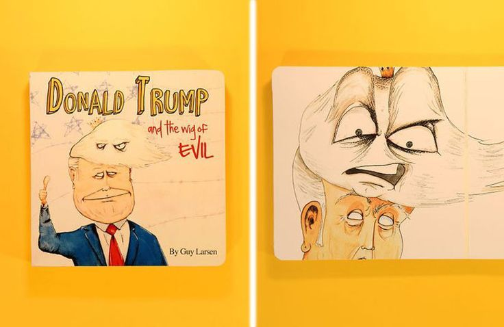 """""""Donald Trump And The Wig Of Evil""""... A Truly Deranged Children's Book"""