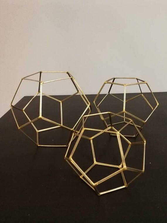 Glass Less Terrarium Terrarium Frame Glass Geometric Terrarium