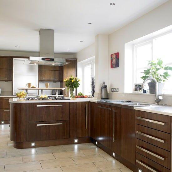 Modern Walnut Kitchen Cabinets: 82 Best Images About Walnut Kitchen On Pinterest