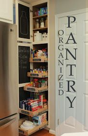 Kitchen Organization - How to install pull-out shelves in pantry