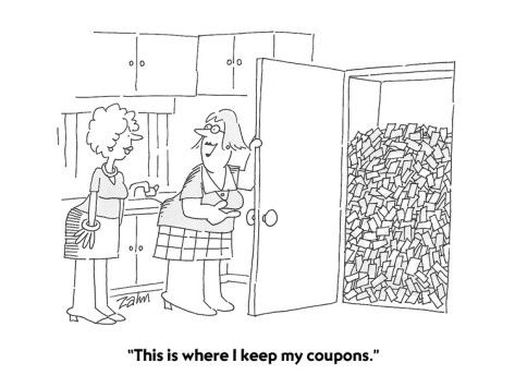 14 best coupon cartoons images on pinterest coupon coupon codes coupon madness fandeluxe Images