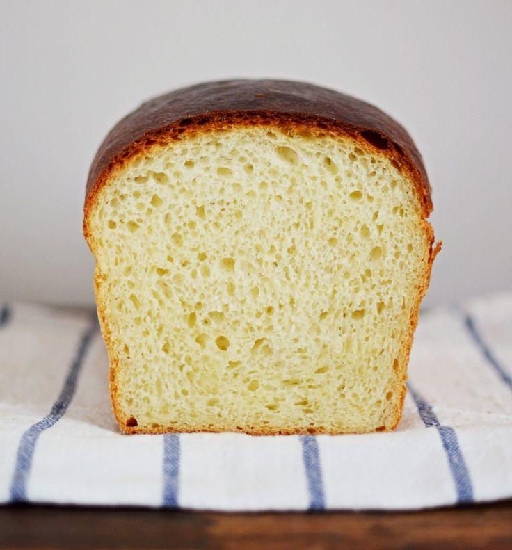 toustový chléb z kvásku