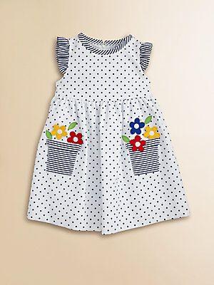 Florence Eiseman Toddler's Dotted Flower Pot Dress