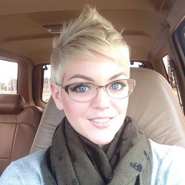 Kurzhaarfrisuren Und Brille Schneller Haare Wachsen