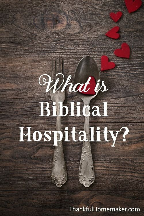 What does it look like to practice biblical hospitality? @mferrell