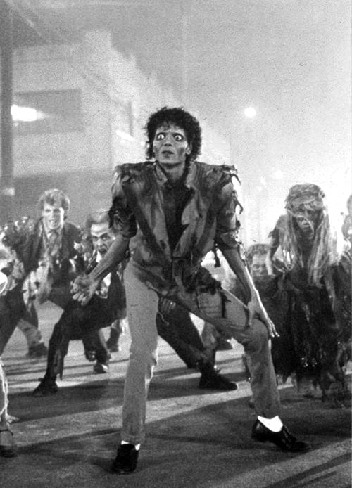 Thriller - Epic and 1 of my fave mj song of all time. it scared me when i was little. I remember my dad made me watch the back stage scenes so i could see it wasnt real.
