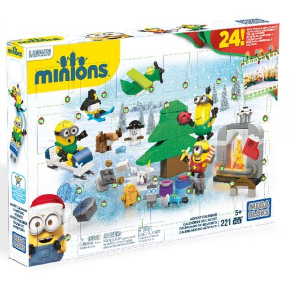 Mega Bloks Minions Adventskalender