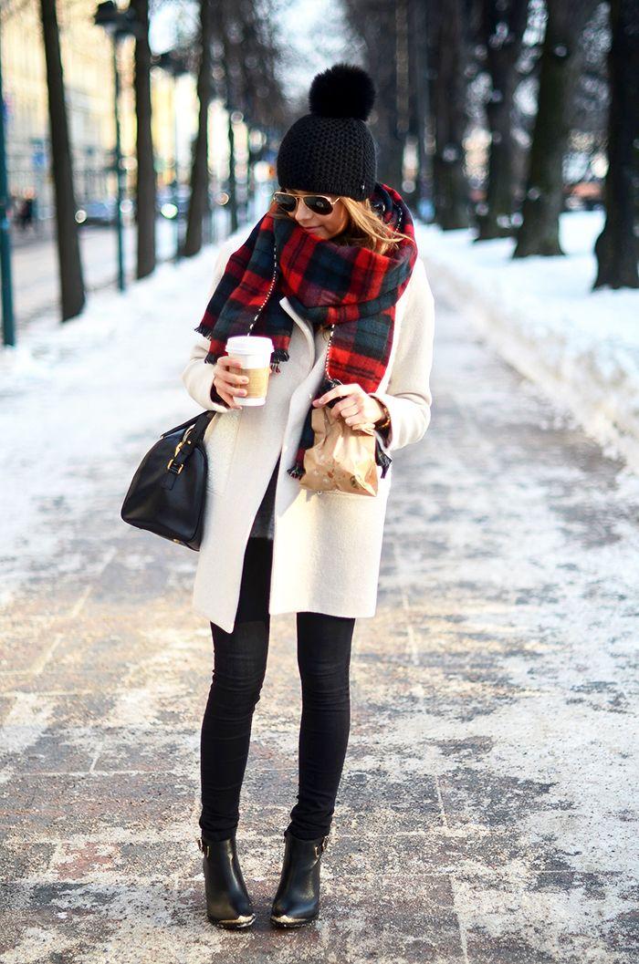 Winter | Winter outfits | Pinterest | Tartan, Thursday and Winter