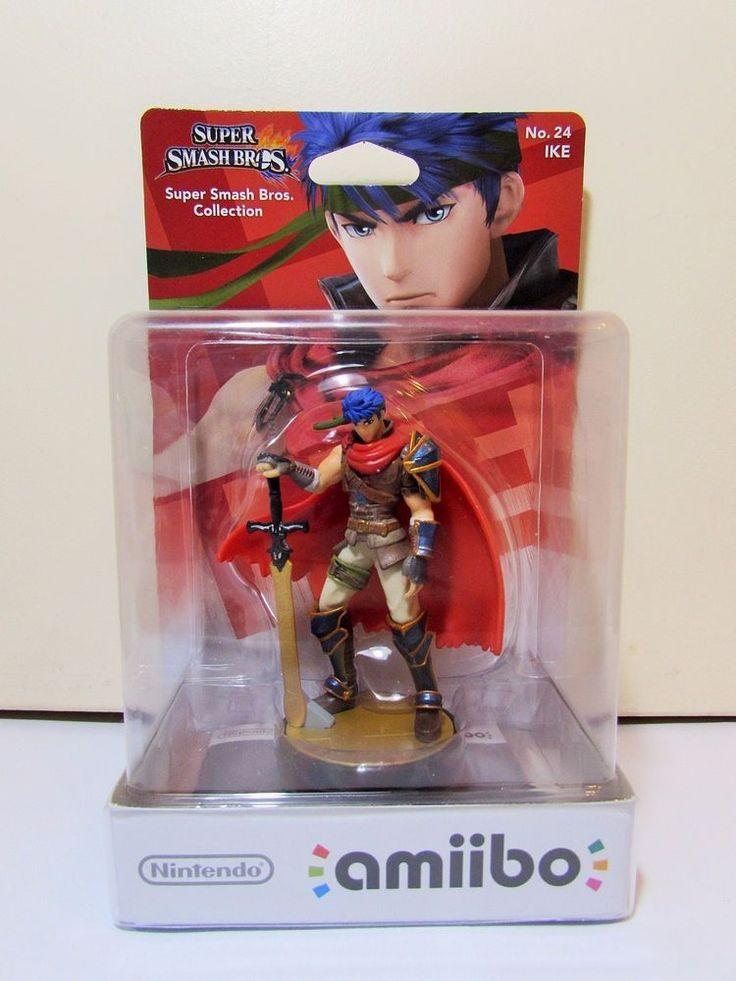 Nintendo Amiibo Super Smash Bros No 24 IKE Brand New