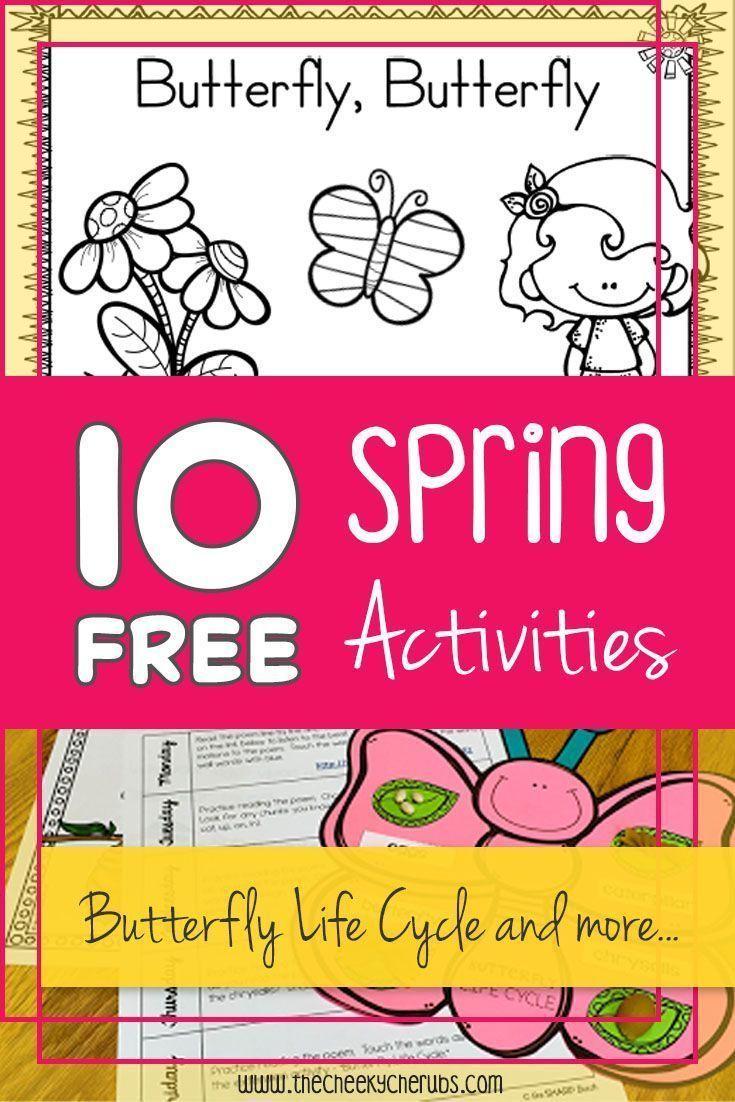 10 FREE - SPRING Activities!!! *****Top 10 Activities*****
