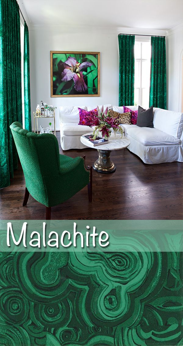 #Emerald + #Malachite should be in full-force at High Point Market this April. #hpmkt