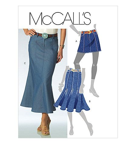 PATTERNS - MCCALL'S SKIRTS: a collection of ideas to try about DIY ...