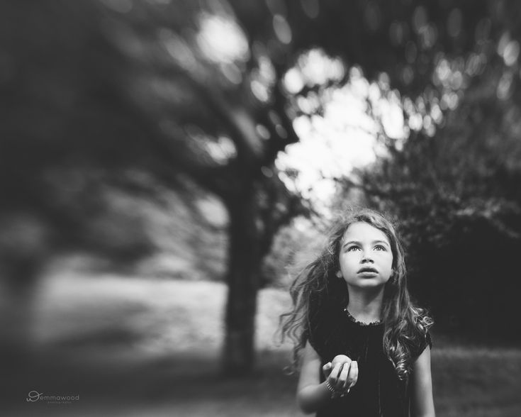 child lensbaby photograph by Emma Wood