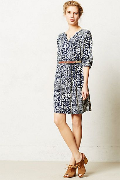 love this comfy, casual day dress - Sonora Shirtdress from Anthropologie