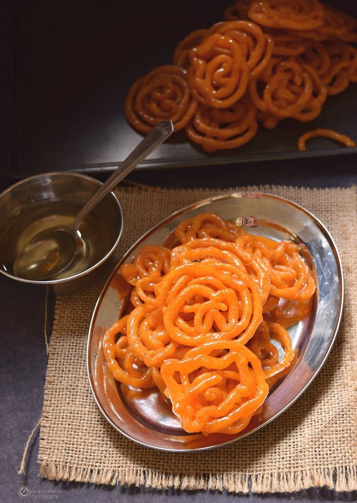 Instant Jalebi Festive Sweet Indian