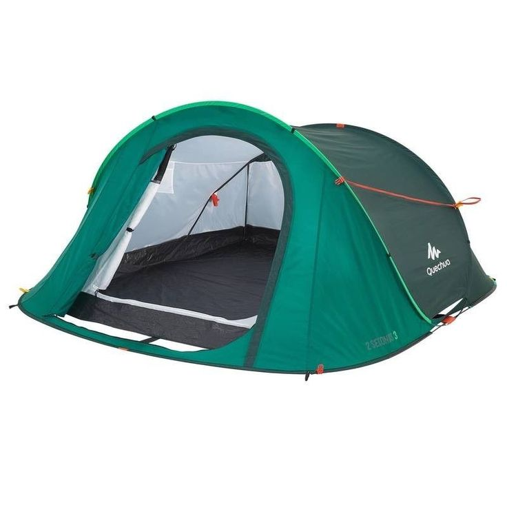 Quechua 2 Seconds III Wurfzelt 3 Personen Easy Pop Up Camping Zelt Schutz Strand