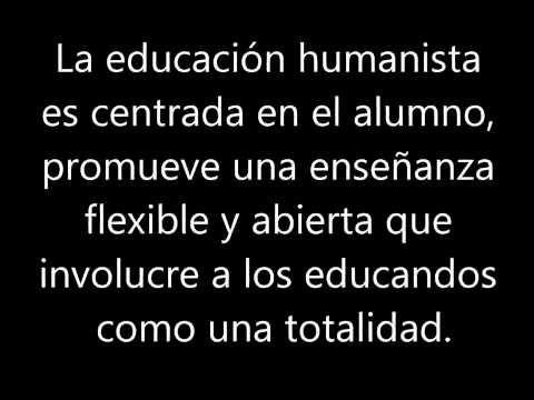 pedagogia humanista - YouTube