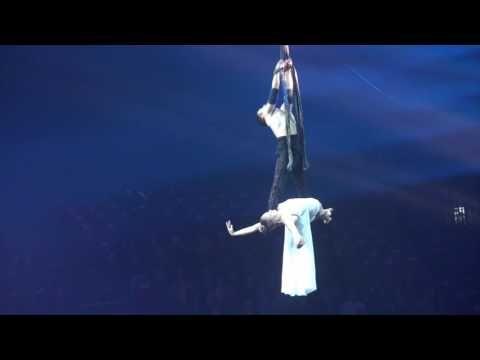 Sangles duo - Aerial Straps - Karen and Dominic - Le Cirque Alis ( Italie ) - 2016 - YouTube