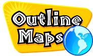Outline maps for geography