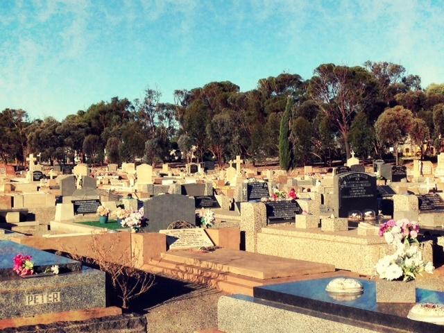 Broken Hill - Cemetery.