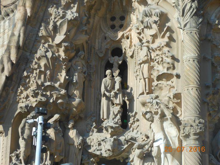 Sagrada Familia, Barcellona, Catalogna
