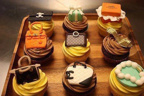 럭셔리 패션 컵케익