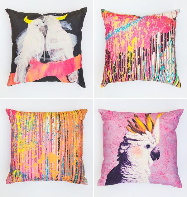Cockatoo Cushions