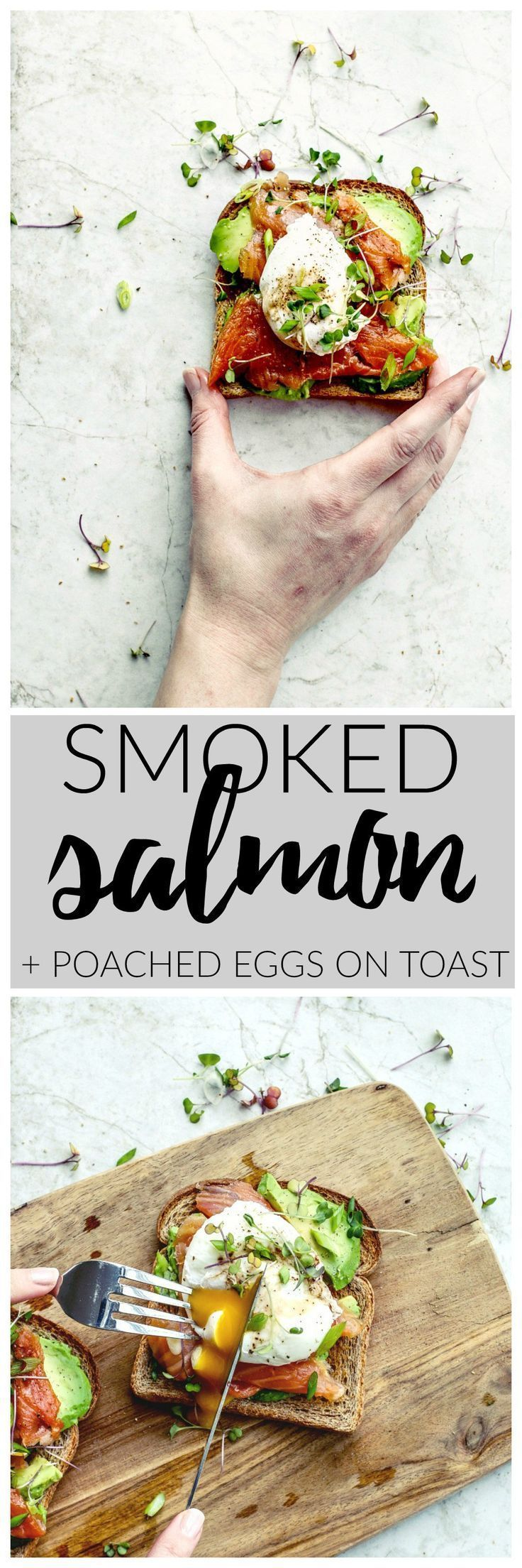 Smoked Salmon Poached Eggs on Toast recipe! | Killing Thyme // Avocado toast / Pescatarian / Healthy breakfast #smokedsalmon #eggsontoast #toastrecipes #avocadotoast #healthybreakfast #pescatarian #pescatarianbreakfast