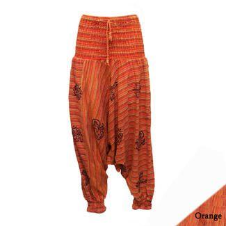 http://www.hippyboho.co.uk/1-cotton-harem-pants-stonewashed-nepalese-stripe-with-paint-detail/