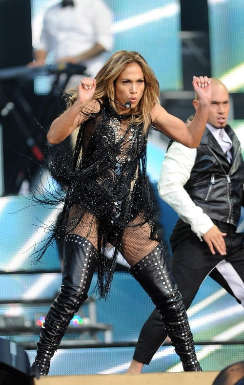 Jennifer Lopez at 'Chime For Change' Concert in London on June 1, 2013