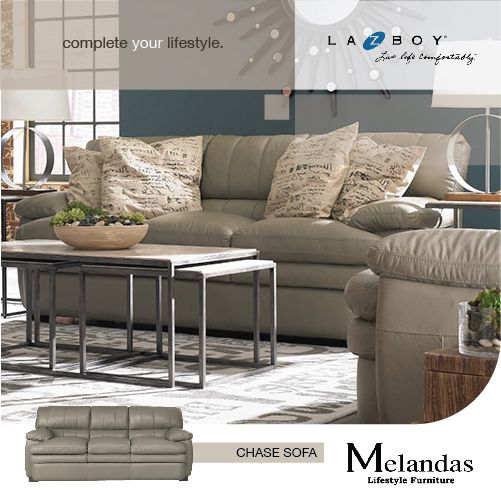 """Chase"" is the perfect fit for today's modern lifestyle. It is styled with a contemporary feel and extra cushy cushions."