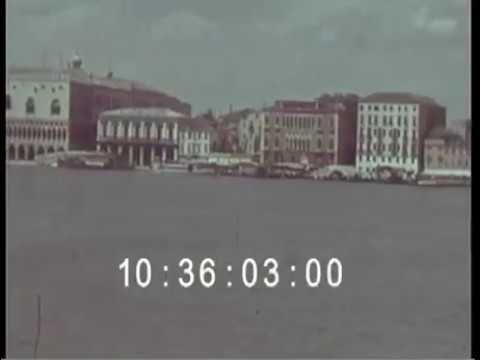 Footage venezia 1930s color