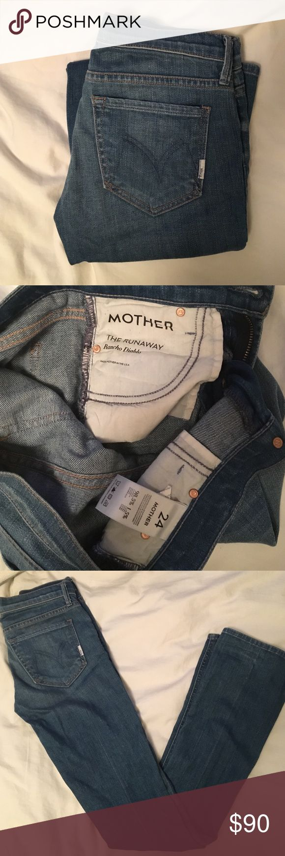 Mother Jeans the Runaway in Rancho Diablo Super cute never worn! MOTHER Jeans Boot Cut