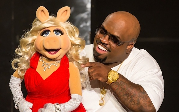 Cee Lo Green and Miss Piggy