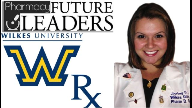 Episode 110 October 8, 2013 Pharmacy Future Leaders: Courtney B. Graham Wilkes University.  We interview Courtney B. Graham Wilkes University PharmD Candidate Class of 2014 who will use the skills and knowledge she has gained at Wilkes University to positively impact her future career and as a leader in pharmacy.