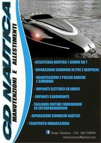 Cd nautica manutenzioni e allestimenti Milano. - Assistenza nautica, riparazione gommoni Milano