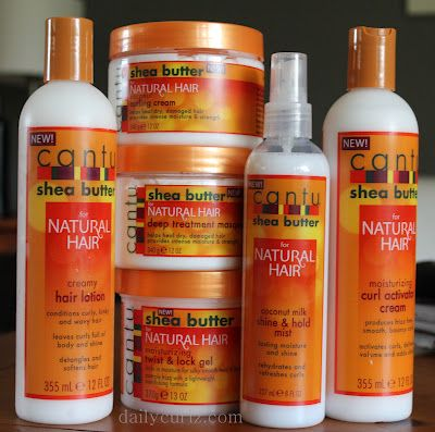 DailyCurlz: Cantu Shea Butter Introduces NEW Naturals Collection.