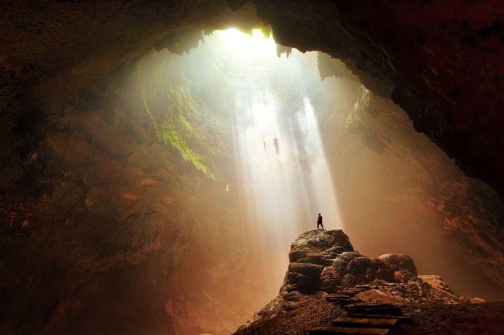 Java has many spectacular caves like this one in Yogyakarta